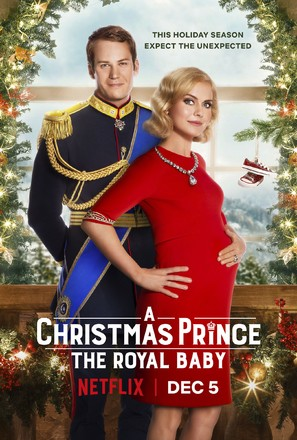 A Christmas Prince: The Royal Baby - Movie Poster (thumbnail)