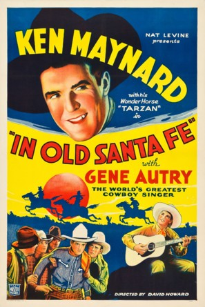 In Old Santa Fe - Movie Poster (thumbnail)
