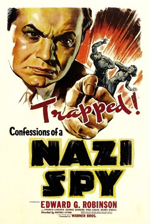 Confessions of a Nazi Spy - Movie Poster (thumbnail)