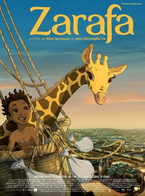Zarafa - French Movie Poster (thumbnail)