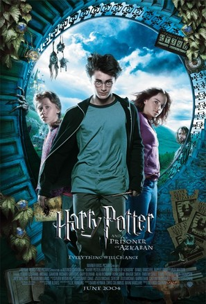 Harry Potter and the Prisoner of Azkaban - Movie Poster (thumbnail)