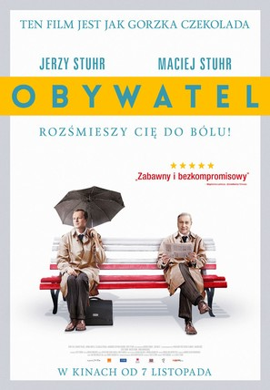 Obywatel - Polish Movie Poster (thumbnail)