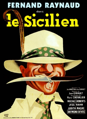 Sicilien, Le - French Movie Poster (thumbnail)