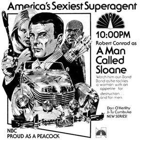 """A Man Called Sloane"" - poster (thumbnail)"