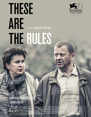 These Are the Rules - Croatian Movie Poster (thumbnail)