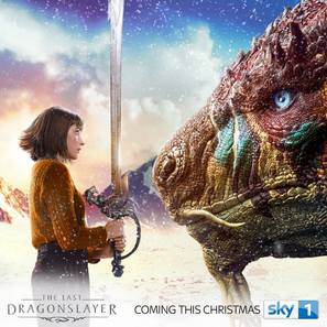 The Last Dragonslayer - British poster (thumbnail)