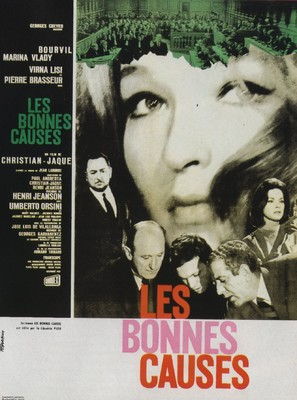 Les bonnes causes - French Movie Poster (thumbnail)