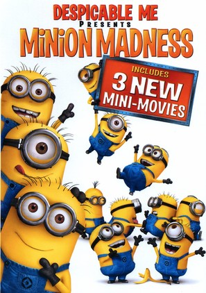 Despicable Me Presents: Minion Madness - DVD cover (thumbnail)