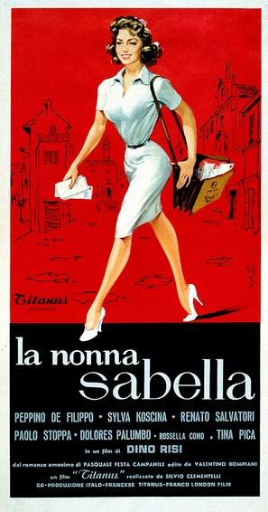 La nonna Sabella - Italian Movie Poster (thumbnail)