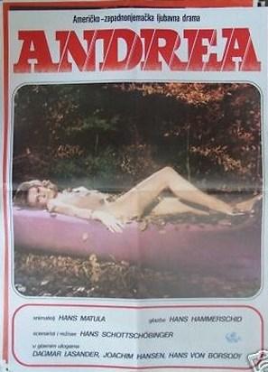 Andrea - Wie ein Blatt auf nackter Haut - Belgian Movie Poster (thumbnail)