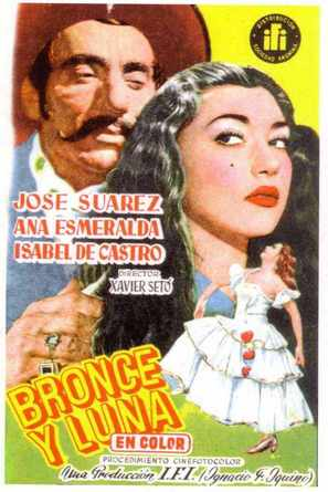 Bronce y luna - Spanish Movie Poster (thumbnail)