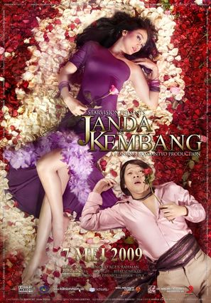 Janda kembang - Indonesian Movie Poster (thumbnail)
