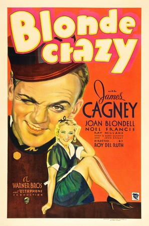 Blonde Crazy - Movie Poster (thumbnail)
