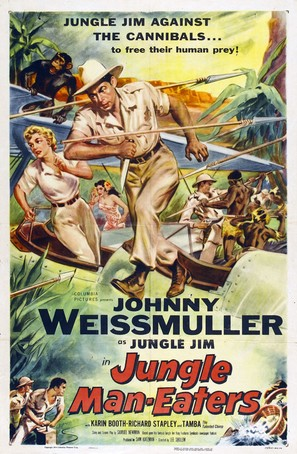 Jungle Man-Eaters - Movie Poster (thumbnail)