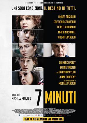 7 Minuti - Italian Movie Poster (thumbnail)