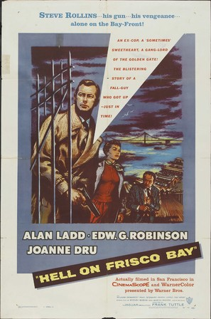 Hell on Frisco Bay - Movie Poster (thumbnail)