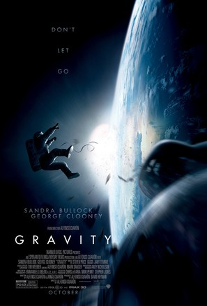 Gravity - Theatrical movie poster (thumbnail)