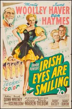 Irish Eyes Are Smiling - Movie Poster (thumbnail)
