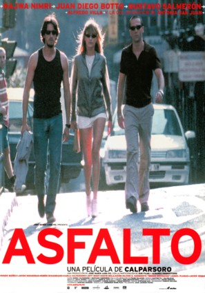 Asfalto - Spanish Movie Poster (thumbnail)