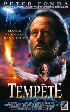 The Tempest - French VHS cover (thumbnail)