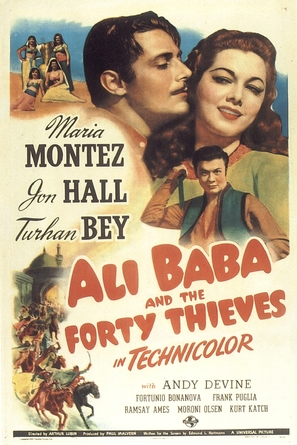 Ali Baba and the Forty Thieves - Movie Poster (thumbnail)