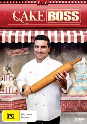 """""""Cake Boss"""" - Australian DVD cover (thumbnail)"""