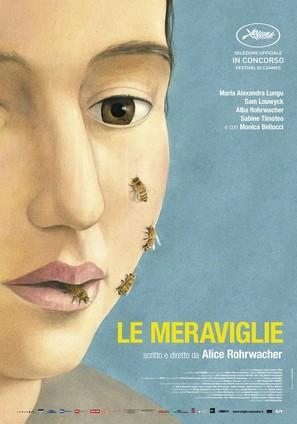 Le meraviglie - Italian Movie Poster (thumbnail)