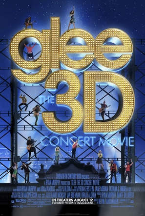 Glee: The 3D Concert Movie - Movie Poster (thumbnail)