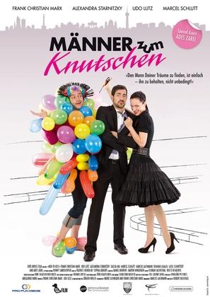 Männer zum knutschen - German Movie Poster (thumbnail)