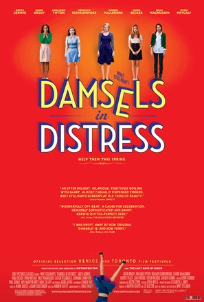 Damsels in Distress - Movie Poster (thumbnail)