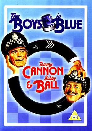 The Boys in Blue - British DVD movie cover (thumbnail)