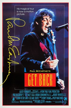 Get Back - Movie Poster (thumbnail)