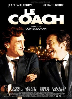 Le coach - French Movie Poster (thumbnail)