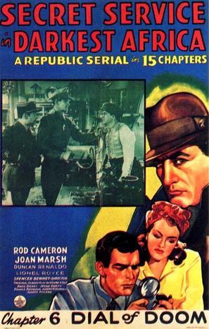Secret Service in Darkest Africa - Movie Poster (thumbnail)
