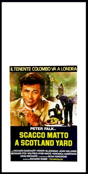 Columbo: Dagger of the Mind - Italian Movie Poster (thumbnail)
