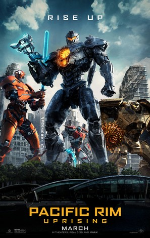 Pacific Rim: Uprising - Movie Poster (thumbnail)