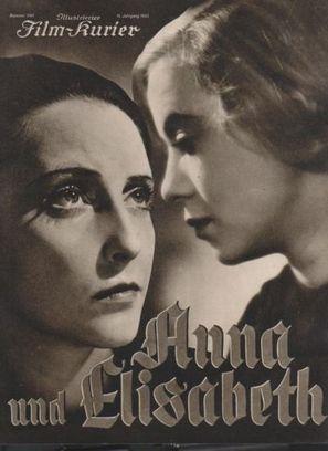 Anna und Elisabeth - German poster (thumbnail)