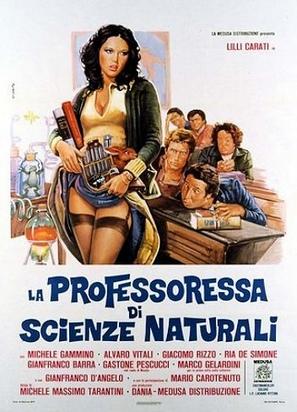 La professoressa di scienze naturali - Italian Movie Poster (thumbnail)