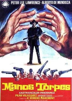 Manos torpes - Spanish Movie Poster (thumbnail)
