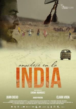 Anochece en la India - Spanish Movie Poster (thumbnail)