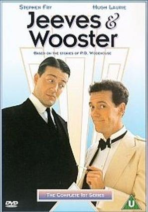 """Jeeves and Wooster"" - British DVD movie cover (thumbnail)"