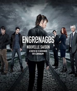 """""""Engrenages"""" - French Movie Poster (thumbnail)"""