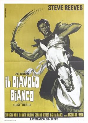 Agi Murad il diavolo bianco - Italian Movie Poster (thumbnail)