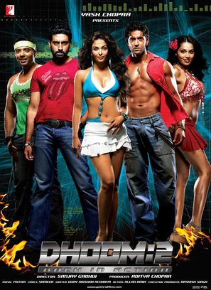 Dhoom 2 - Indian Movie Poster (thumbnail)