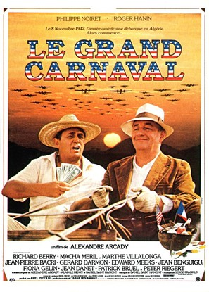 Le grand carnaval - French Movie Poster (thumbnail)