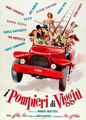 I pompieri di Viggiù - Italian Theatrical poster (thumbnail)