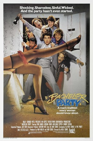 Bachelor Party - Movie Poster (thumbnail)