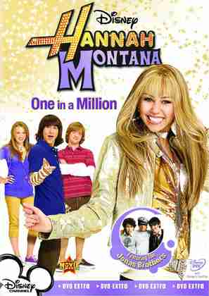 Hannah Montana: One in a Million - Movie Cover (thumbnail)