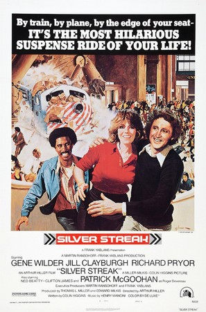Silver Streak - Theatrical poster (thumbnail)