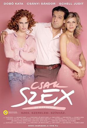 Csak szex és más semmi - Hungarian Movie Poster (thumbnail)